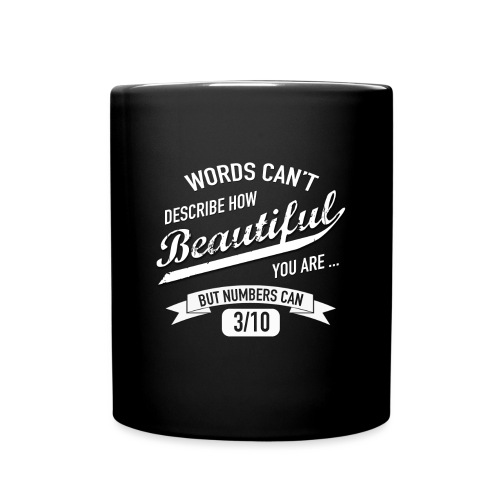 When Words Are Not Enough - Full Colour Mug