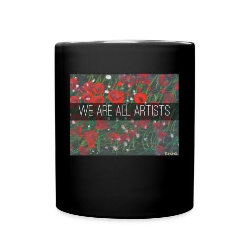 We Are All Artists - Full Colour Mug