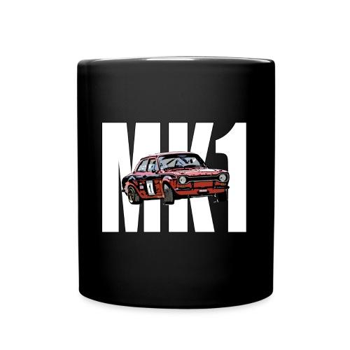 Mk1 Escort over Text - Full Colour Mug