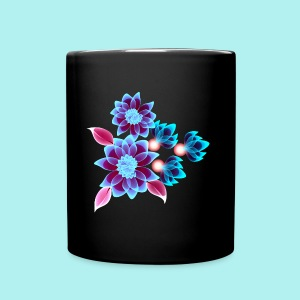 Hypnotic flowers - Tasse en couleur