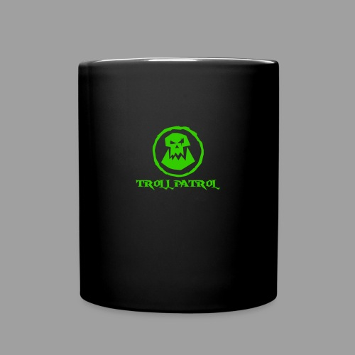 Troll Patrol Logo 2 - Full Colour Mug