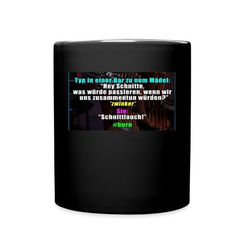 SchnitLauch - Tasse einfarbig