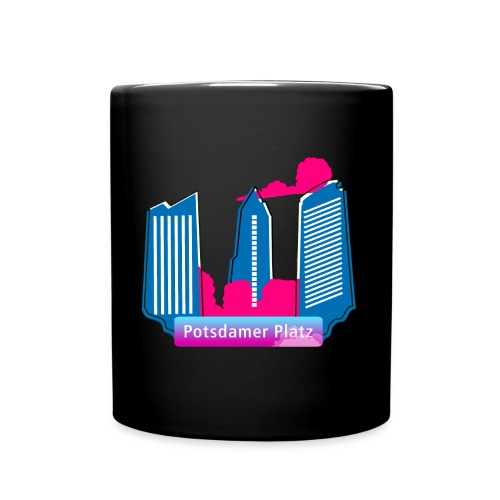 Potsdamer Platz skyscraper - Full Colour Mug