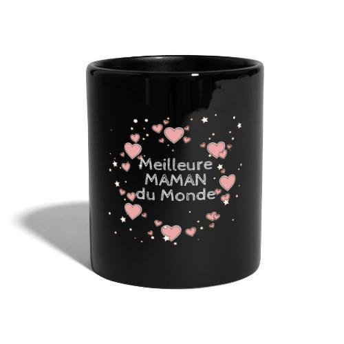 Meilleure maman du monde, fête des mères, coeur - Mug uni