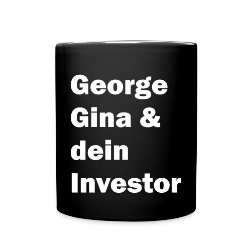 gginvestor weiss - Tasse einfarbig