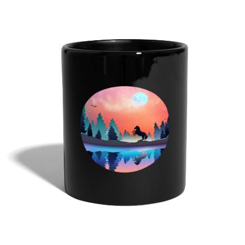 Waldsee Pferd - Tasse einfarbig