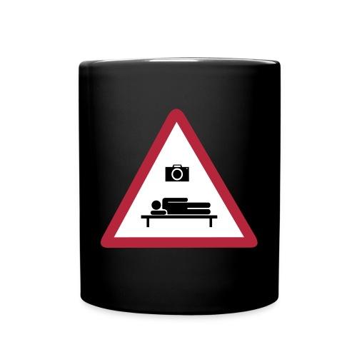 Heilbronn schläft Logo - Tasse einfarbig