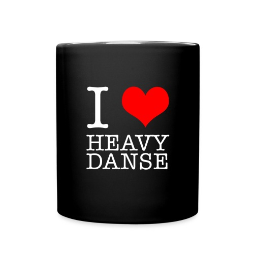 I Love HeavyDanse Transpa - Mug uni