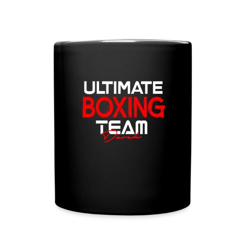 Ultimate Boxing Schwarz - Tasse einfarbig