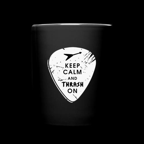 Keep calm and thrash on - Tasse einfarbig