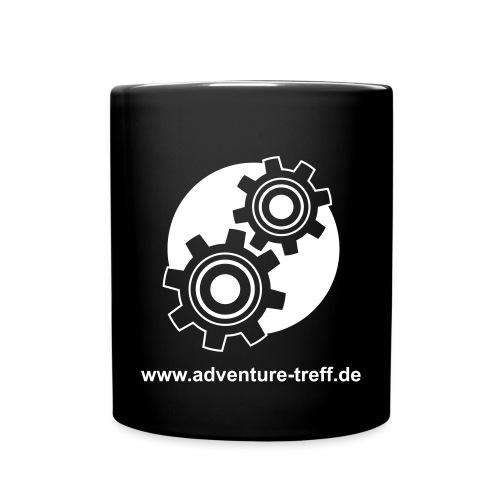 Treff Logo mit URL - Tasse einfarbig