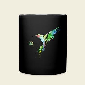 KOLIBRI im Taubenschwarm - Tasse einfarbig