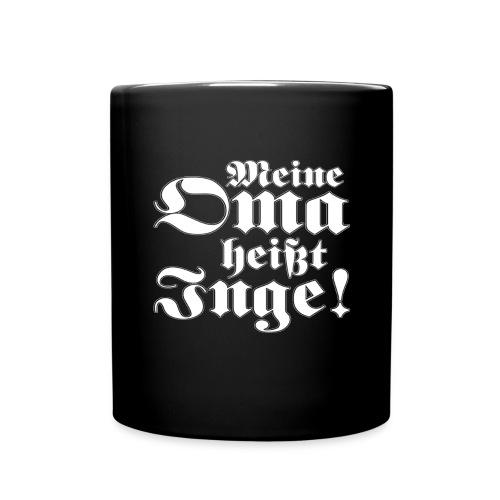 Shop_Inge_Fraktur_Gross - Tasse einfarbig