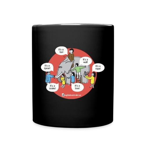 upphandlingsdilemmat - Enfärgad mugg