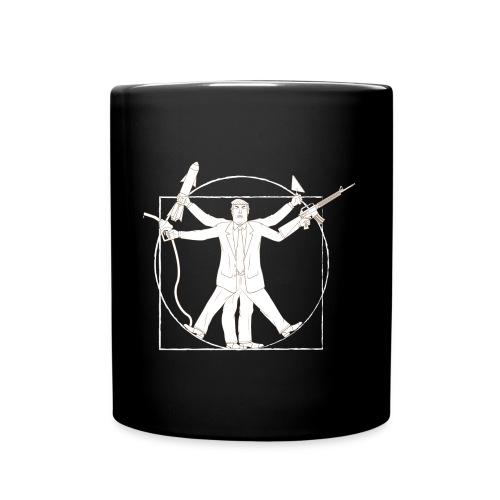 Vitruvian Trump: Anti-Trump design - Full Colour Mug