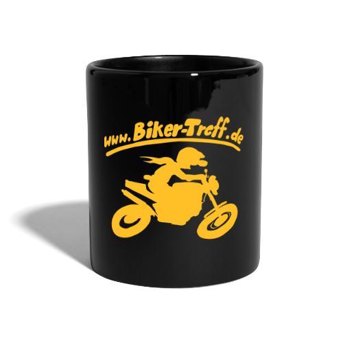 www.Biker-Treff.de - Tasse einfarbig