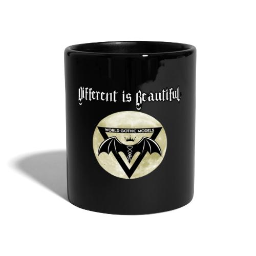 Different is Beautiful with Moon WGM Logo - Full Colour Mug