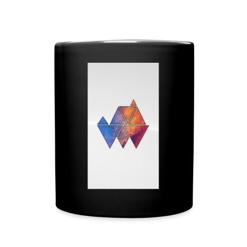 Colourful_Triangles - Tasse einfarbig
