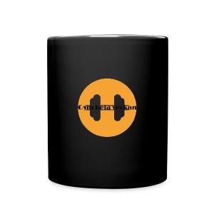 Gym hela veckan - Enfärgad mugg