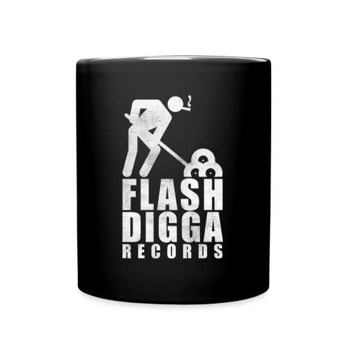 Flashdigga Weiss - Tasse einfarbig