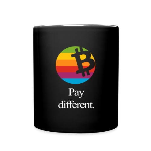 pay different 170214205512 white png - Tasse einfarbig