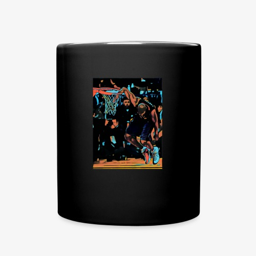 VC hand in the basket dunk art work - Tazza monocolore