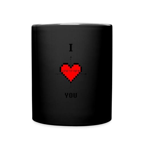 I LOVE YOU - Tazza monocolore