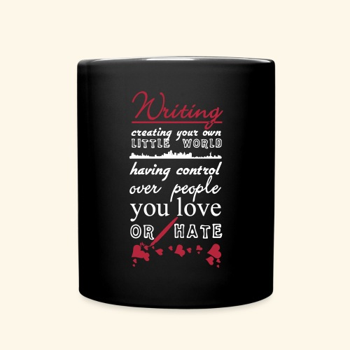 Writing - Full Colour Mug