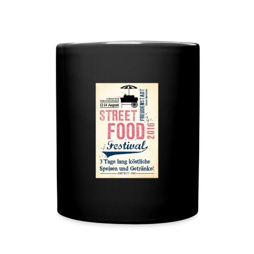 streetfood1 - Tasse einfarbig