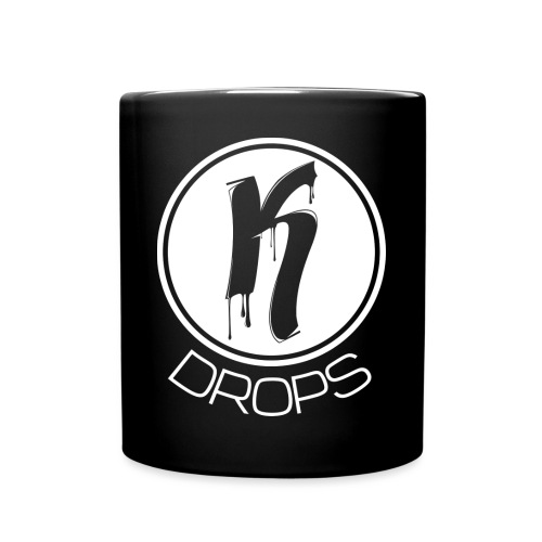 KDrops White Logo - Full Colour Mug