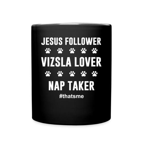 Jesus follower vizsla lover nap taker - Full Colour Mug
