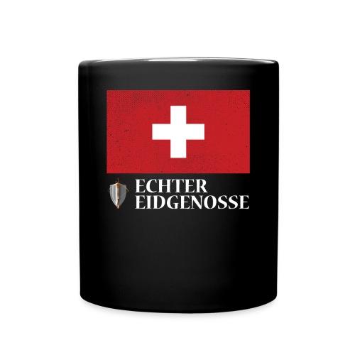 Echter Eidgenosse Schweiz - Tasse einfarbig