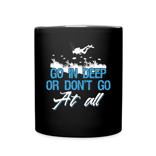 Diving Go In Deep - Tasse einfarbig