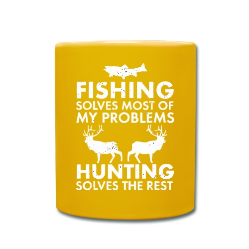 Fishing solves most of my problems - Full Colour Mug