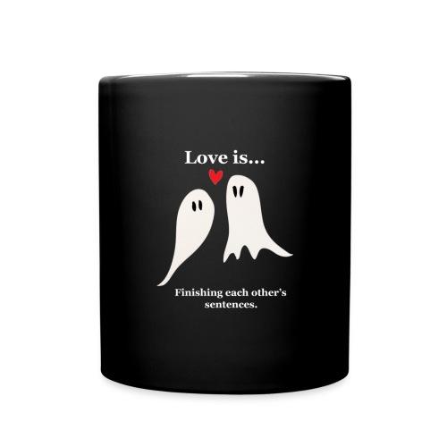 Love is... - Enfärgad mugg