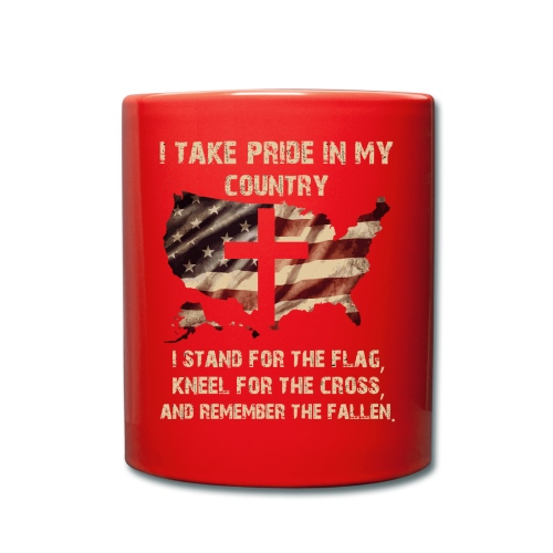 I take pride in my country - Full Colour Mug