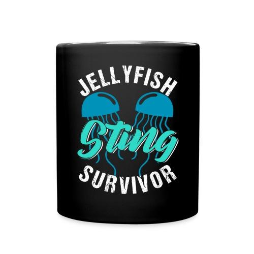 Jellyfish Sting Survivor - Tasse einfarbig