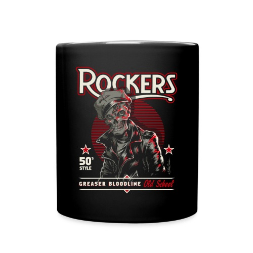 rockersssss unido - Taza de un color