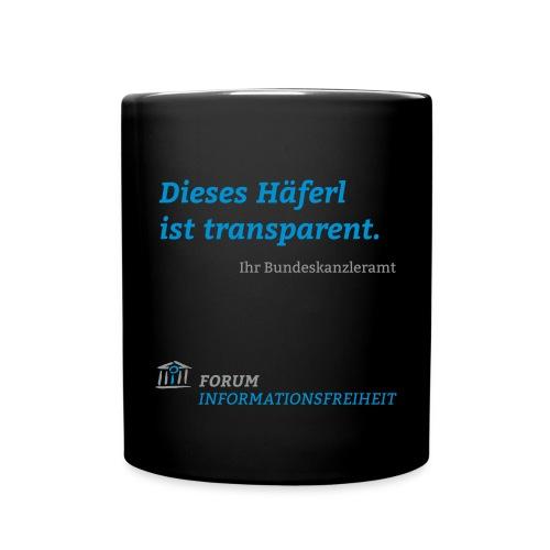 Logo Forum Informationsfreiheit - Tasse einfarbig