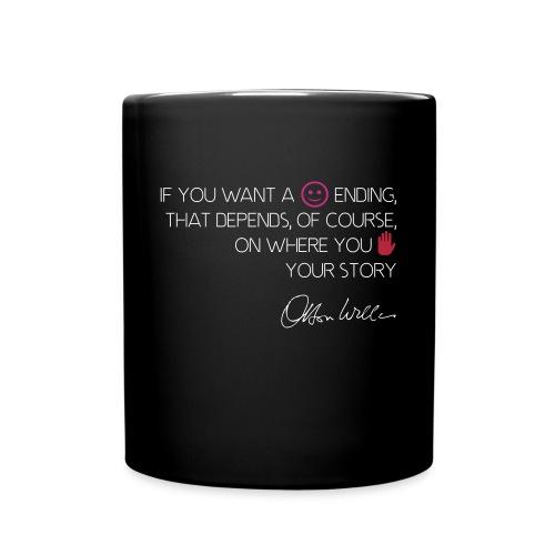 Orson Welles citation happy ending - Mug uni