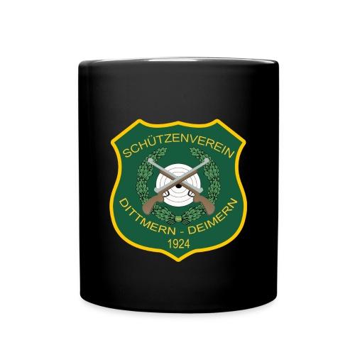 Wappen Dittmern Deimern - Tasse einfarbig