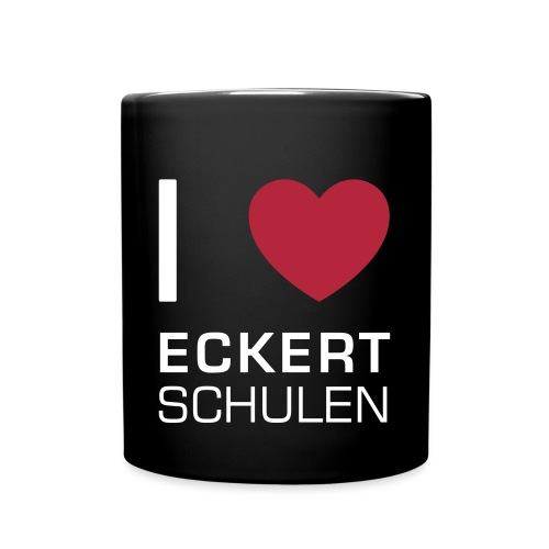 I love Eckert Schulen - Tasse einfarbig