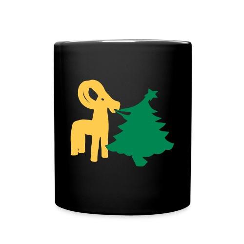 Julbock Mampf - Tasse einfarbig