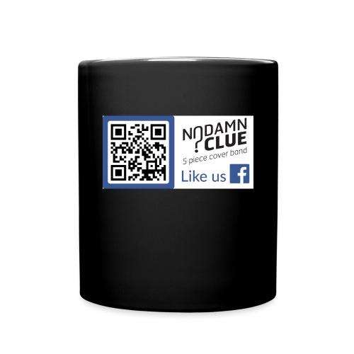 No Damn Clue QR Code - Full Colour Mug