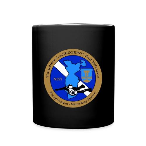 Tauchservice Logo - Tasse einfarbig