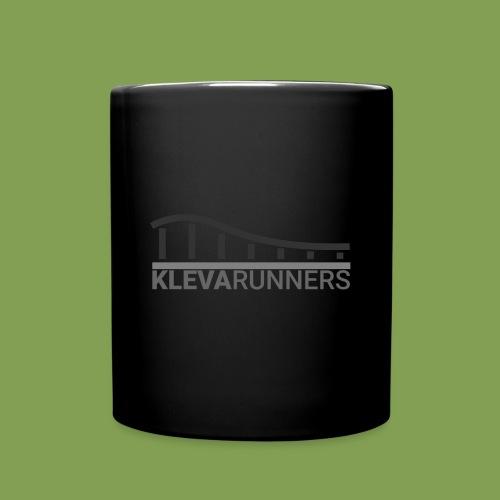 Kleva Runners Logo - Enfärgad mugg
