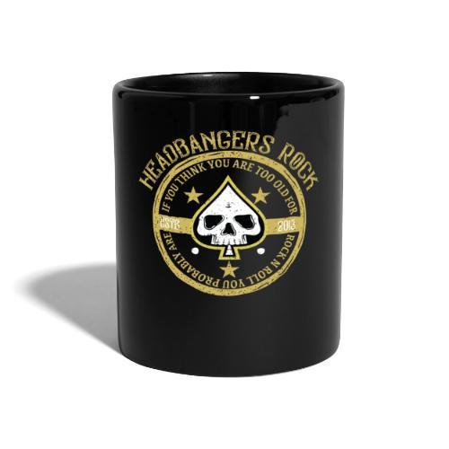 headbangersrock2019 skull - Ensfarvet krus