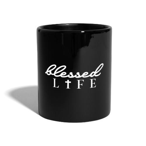 Blessed Life - Jesus Christlich - Tasse einfarbig