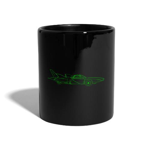 Futuristic Retro Auto - Full Colour Mug