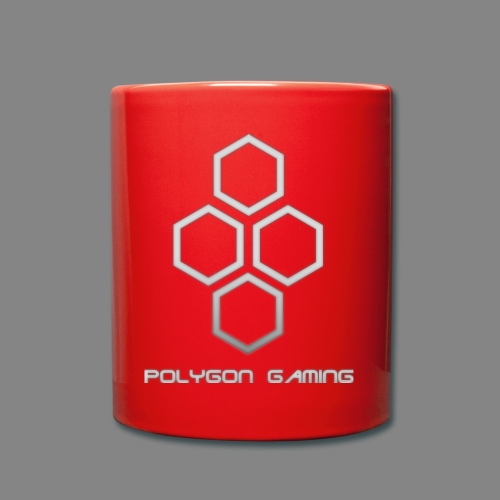 PolygonGamingLogo - Tasse einfarbig